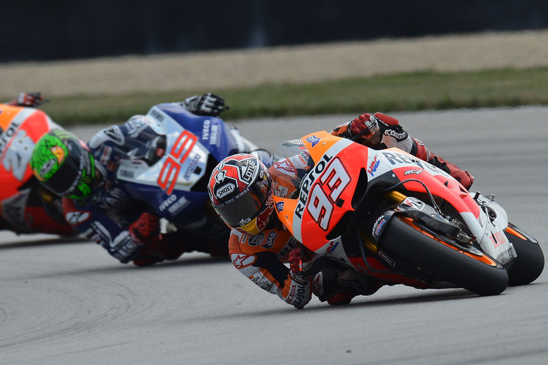 Magic Marquez masters Indy to clinch third-straight victory