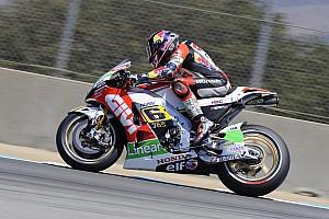 MotoGP Practice report Bridgestone: Bradl the boss in Friday practice at Brno