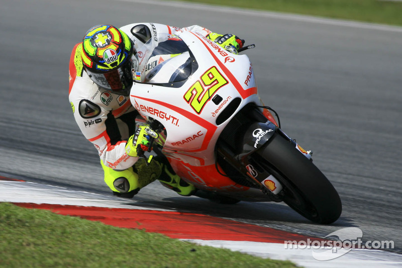 Long day for Andrea Iannone at Brno