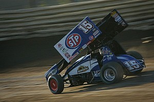 World of Outlaws Race report Schatz charges to thrilling win at Castrol Raceway