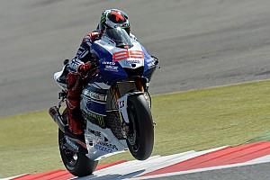MotoGP Practice report Superb start for Lorenzo at Silverstone