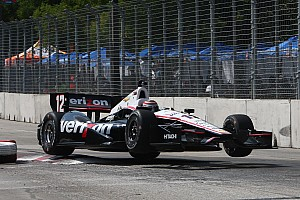 IndyCar Practice report Team Penske's Power and Castroneves hit the streets of Baltimore for Friday practice