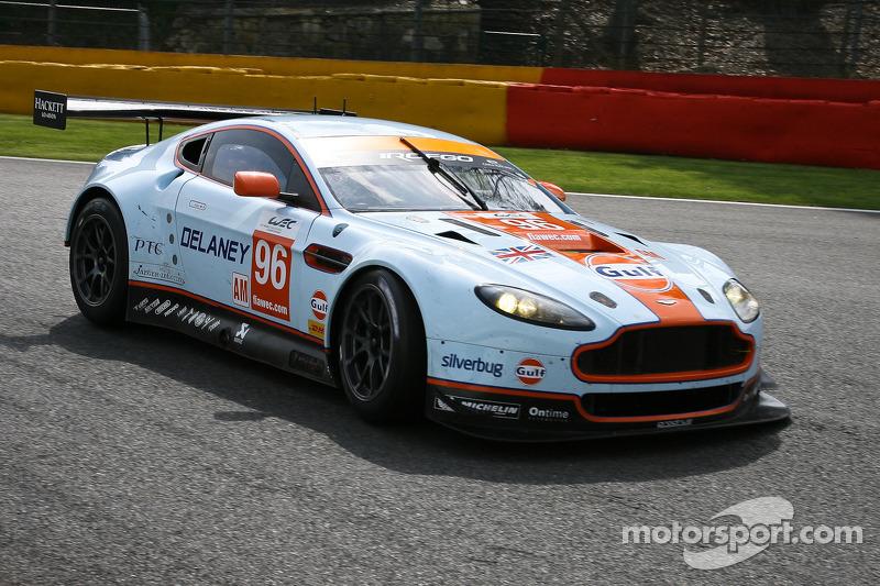 Aston Martin celebrates victory at Six Hours of São Paulo