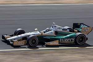 """IndyCar Race report Carpenter survives wild """"Baltimore street fight"""" with a 14th place finish"""