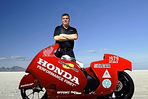 Other bike Breaking news Al Lamb and Motorsport.com partner for land speed record