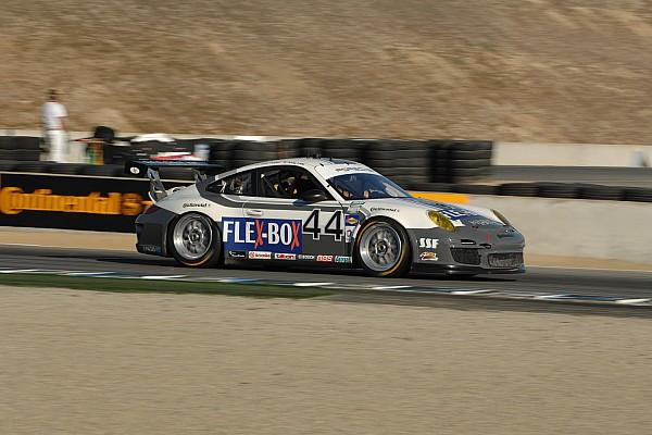 Magnus Racing Porsche reclaims GT points lead at Laguna entering final round