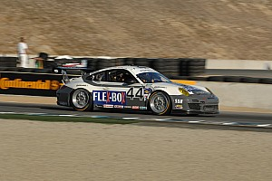 Grand-Am Race report Magnus Racing Porsche reclaims GT points lead at Laguna entering final round