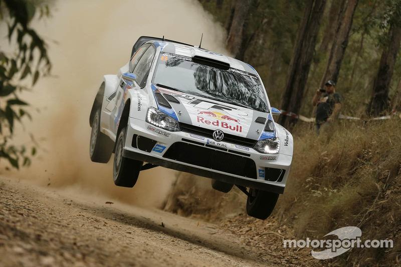 Master class – Volkswagen driver Ogier leading in Australia