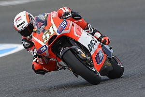 MotoGP Qualifying report Pirro ended up with a row 4 grid place at the Misano Circuit