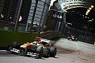 Sahara Force India completed a productive free practice programme in Singapore