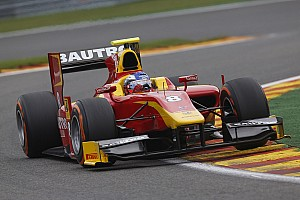 GP2 Qualifying report Fabio Leimer qualifies 3rd for Racing Engineering today in Singapore