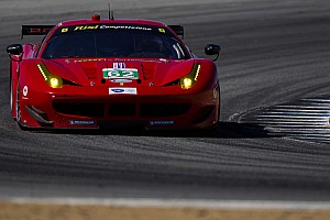 ALMS Qualifying report Rain hampers Risi's fast qualifying charge at home race