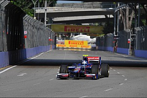 GP2 Race report Palmer fights back to take stunning Singapore Feature Race victory