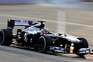 Bottas qualified 16th with Maldonado 18th for tomorrow's Singapore GP