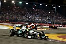 With the same strategy, Rosberg was 4th and Hamilton 5th on Singapore GP