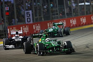 Formula 1 Breaking news Van der Garde not excluded for 2014 stay - Fernandes