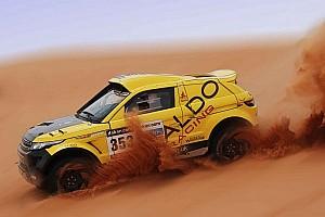Dakar Testing report Successful Dakar testing for ALDO Racing in England