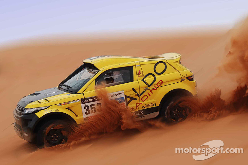 Successful Dakar testing for ALDO Racing in England