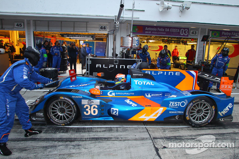 3 Hours of Castellet: The title goes to Alpine and Nelson Panciatici