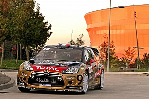 WRC Leg report Sordo and Loeb mix it up with leaders at Citroen's homeland rally