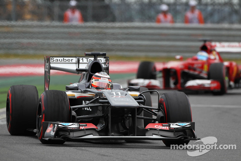 Best result for Sauber F1 Team of this season at Korea