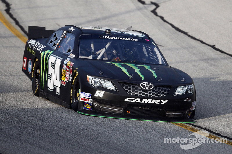 Kyle Busch and Monster Energy fourth at Kansas Speedway