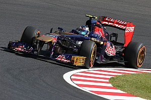 Formula 1 Practice report A troublefree Friday for Scuderia Toro Rosso at Suzuka