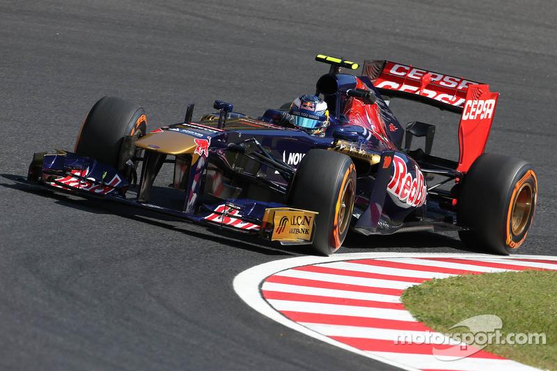 A troublefree Friday for Scuderia Toro Rosso at Suzuka