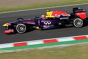 Formula 1 Practice report Webber quickest in final practice at Suzuka