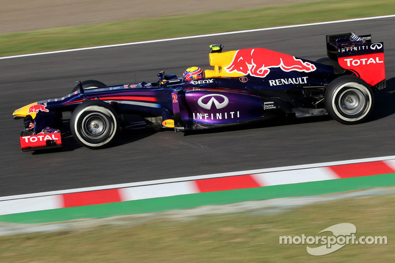 Webber quickest in final practice at Suzuka