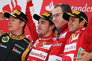 Formula 1 Breaking news Boss says Ferrari's problem 'is not Domenicali'