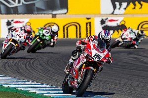 World Superbike Qualifying report Fores and Team SBK Ducati Alstare reach the final phase of today's Superpole at Jerez