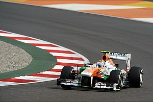 Formula 1 Practice report A positive practice for Force India at Buddh