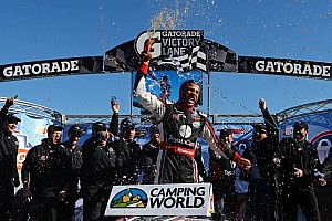 NASCAR Truck Race report Wallace Jr. claims his first truck win at Martinsville
