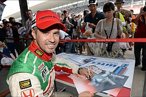 WTCC Preview Tiago Monteiro aiming for a good result in China