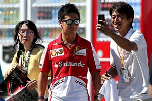 Formula 1 Breaking news Kobayashi photographed smoking cigarette