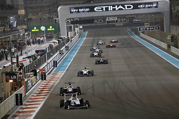 Trident's Venturini completed the two races at Abu Dhabi in 11th and 9th place