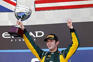 FIA F2 Race report Alexander Rossi GP2 pole and win in Abu Dhabi