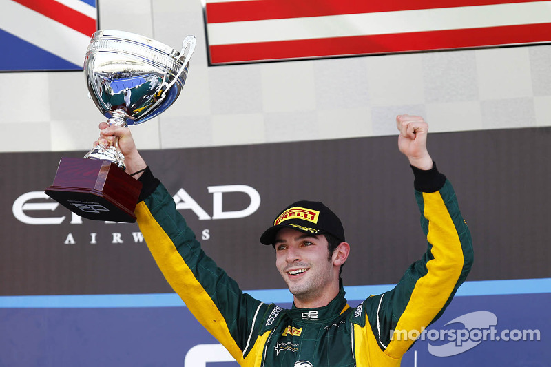 Alexander Rossi GP2 pole and win in Abu Dhabi
