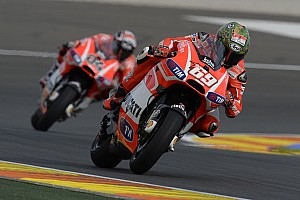 MotoGP Race report 2013 season comes to an end for Ducati Team in Valencia