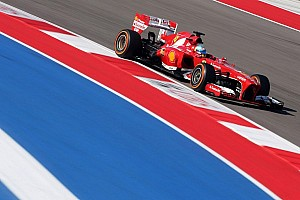 Formula 1 Practice report Alonso quickest at COTA in stop-start FP1