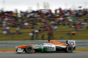 Formula 1 Qualifying report Qualifying at COTA saw Sahara Force India's Di Resta qualify in P12