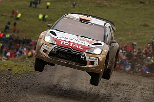 WRC Leg report Sordo continues fightback in Wales