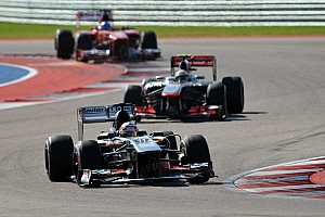 Formula 1 Race report Sauber's Hulkenberg finished in sixth at COTA