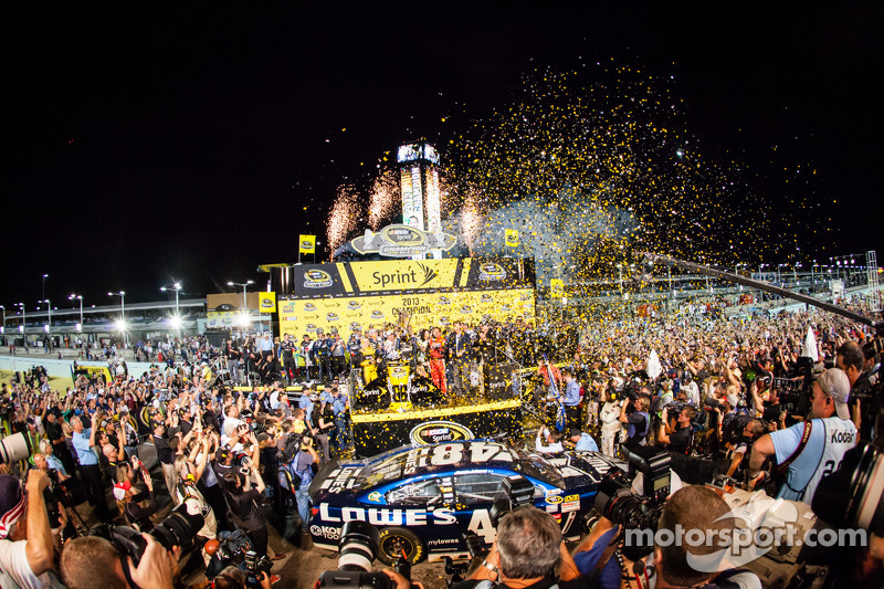 Hendrick Motorsports takes it's 11th title