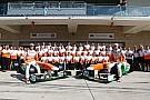 Force India gets ready for the final round of the 2013