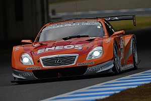 Super GT Race report Pole-to-goal win for Oshima in the ENEOS SUSTINA SC430 at Fuji Speedway