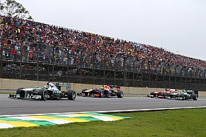 Formula 1 Race report Mercedes secured in São Paulo the second place in the Constructors' Championship