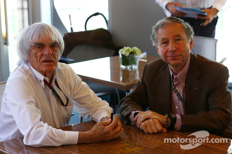 Ecclestone celebrates Todt marriage in Christmas card