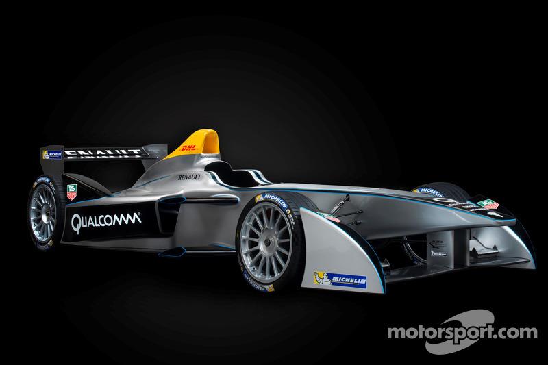 Formula E car to make public debut in Las Vegas